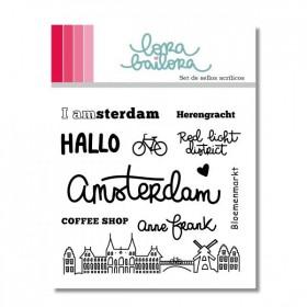 Sello acrílico Amsterdam Lora Bailora