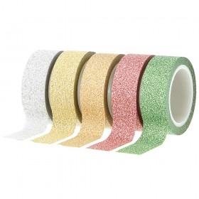 Washi tape glitter plata Artemio