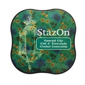 Tinta StazOn Midi Emerald City