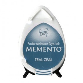 Tinta mini Memento Teal Zeal