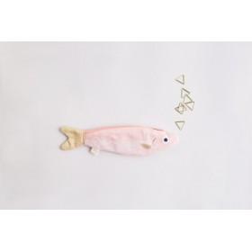 Monedero llavero anchoa rosa