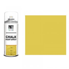 chalk paint spray mostaza