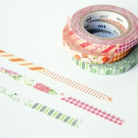 Pack Washi Tape MT slim deco D