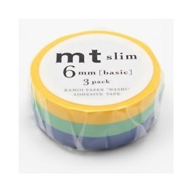 Pack washi tape MT slim G