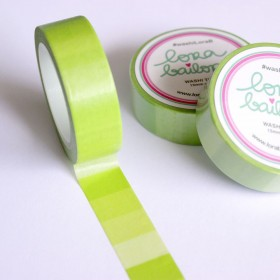 Washi tape degradado verde