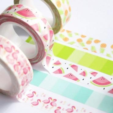 Washi tape degradado mint