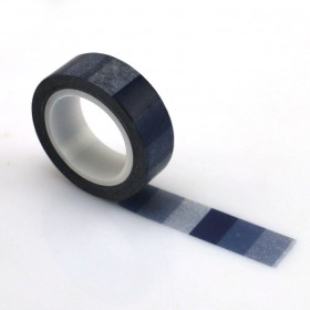 Washi tape degradado azul marino
