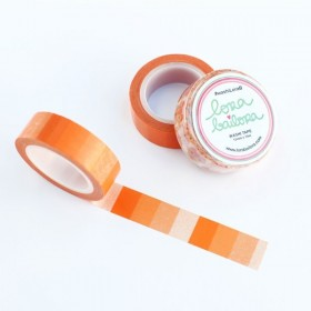 Washi tape degradado naranja