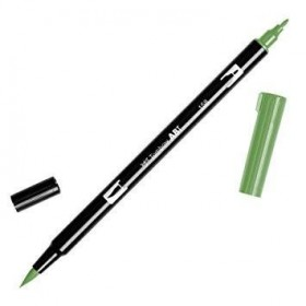 Tombow Dual Brush 158 Dark Olive