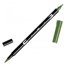 Tombow Dual Brush 177 Dark Jade