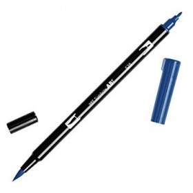 Tombow Dual Brush 528 Navy Blue