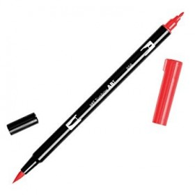 Tombow Dual Brush 856 Chinese red