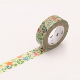 Washi Tape MT watercolor flower