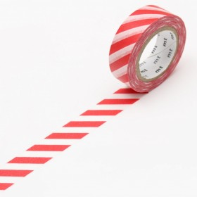 Washi tape MT Stripe Red