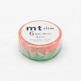 Pack Washi tape MT Slim Deco E