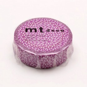 Washi tape MT MUJINAGIKU SUMIRE