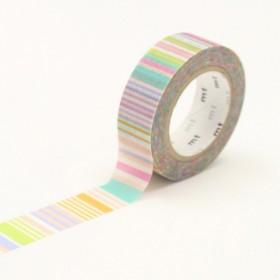 Washi tape MT Multi Border pastel