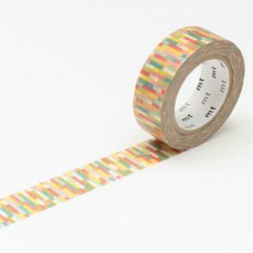 Washi Tape MT block pink
