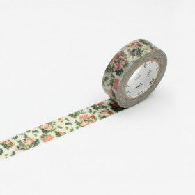 Washi Tape mini flower botanical art