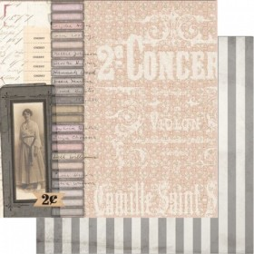 Papel scrap vintage Dearest