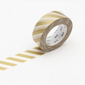 Washi Tape MT stripe gold