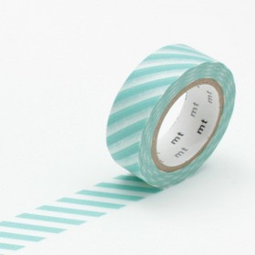 Washi Tape MT stripe mint