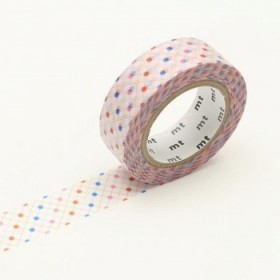Washi Tape MT hasen dot red