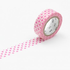Washi Tape MT Dot pink