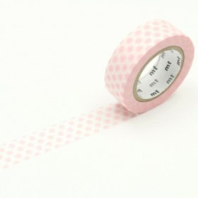 Washi Tape MT Dot strawberry milk