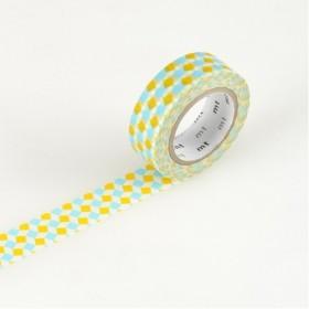 Washi Tape MT square yellow