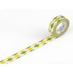 Washi Tape MT argyle green