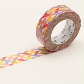 Washi Tape MT slash red