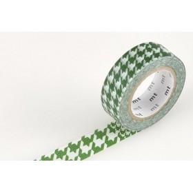 Washi Tape MT Chidori Green