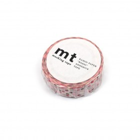 Washi Tape MT tile pink