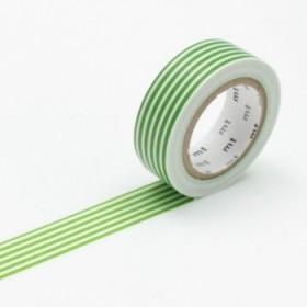 Washi Tape MT border green