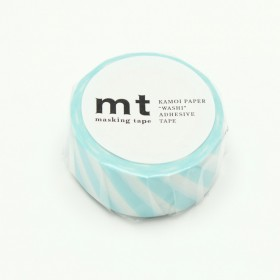 Washi tape MT stripe mint blue