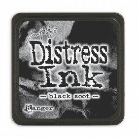 Tinta mini Distress Black soot