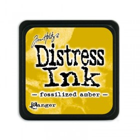 Tinta mini Distress Fosilized amber