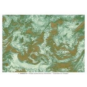 Marmorata verde-oro