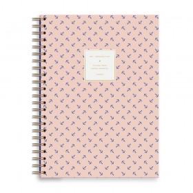 Cuaderno A4 anclas