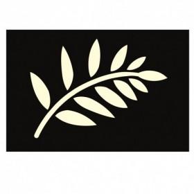 Stencil Love Story leaf
