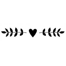 Sello madera love story