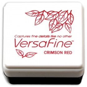 Tinta mini Versafine Crimson red
