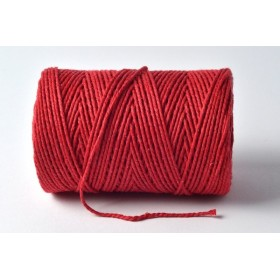 Baker twine solid beefeater red