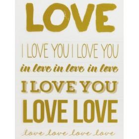 Rub Ons Love