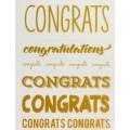 Rub Ons Congrats