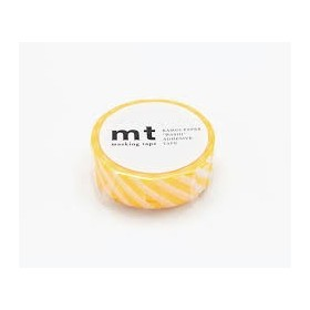 Washi Tape MT stripe yellow