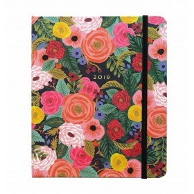 Agenda 2019 Juliet Rose covered spiral planner