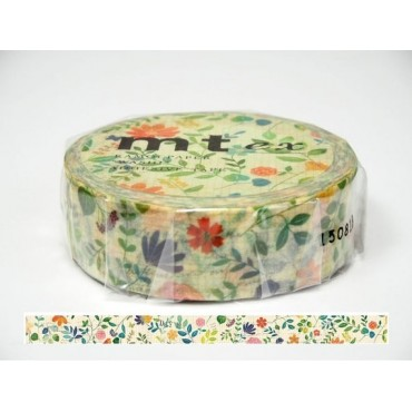 Washi Tape MT watercolor flower