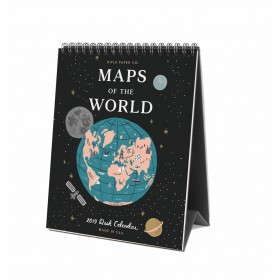 Calendario 2019 Maps of the World